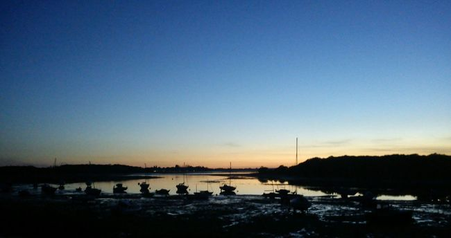 Dell Quay Chichester Harbour Harbour Sunset Dusk
