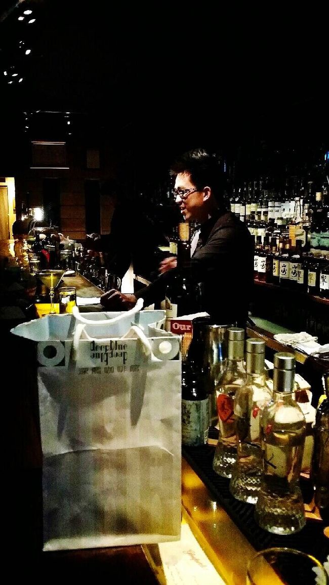 Whisky Bar Learn New Knowledge Strong Taste