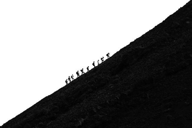 Mountain Hiking Hiking Adventures Adventure Adventures Climbing Climbing A Mountain Steep Steep Hill Travel Traveling Dramatic Angles Popular Photos EyeEm Gallery EyeEmBestPics Pivotal Ideas EyeEm Best Shots Capturing Motion Black And White Monochrome Photography Volcano Stromboli Volcano Stromboli Sicily Italy