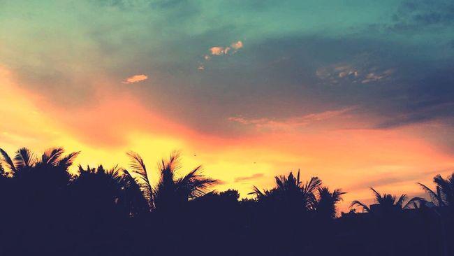 Sunset Karachi Pakistan
