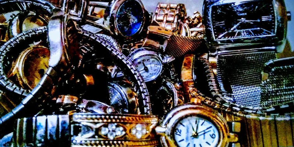 Times. No People Clock Indoors  Day Close-up Architecture watches Roman Numeral Artofvisuals Illuminated Multi Colored Personal Perspective Indoors  CL