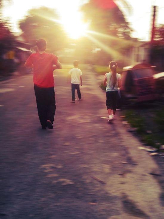 Walk towards the Light, Sunrise Family Matters