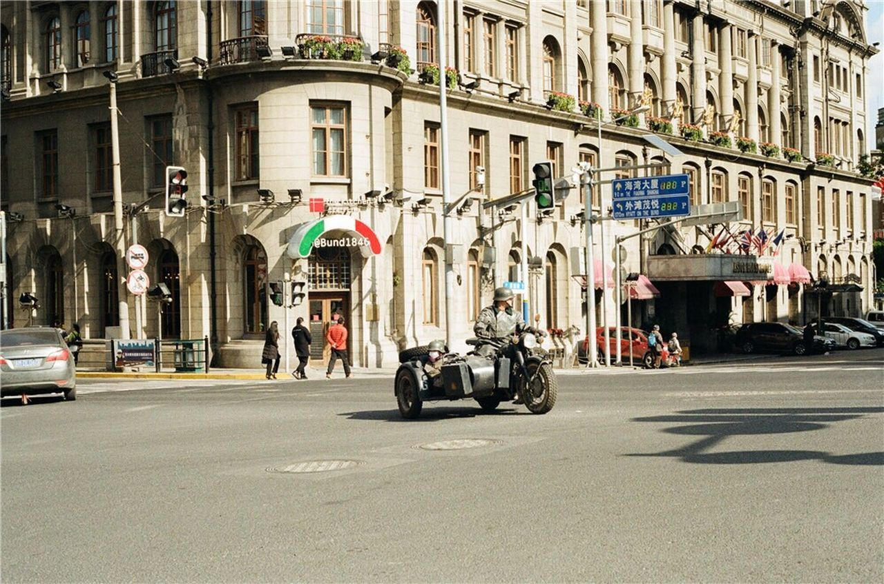 Street Streetphotography Street Photography Moto Motorcycle Transportation City City Life Road Crossroads Film Film Photography