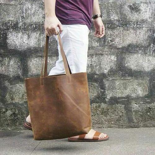 Antiguo Cuero Totebag Leatherbag Philippines Mensfashion Style