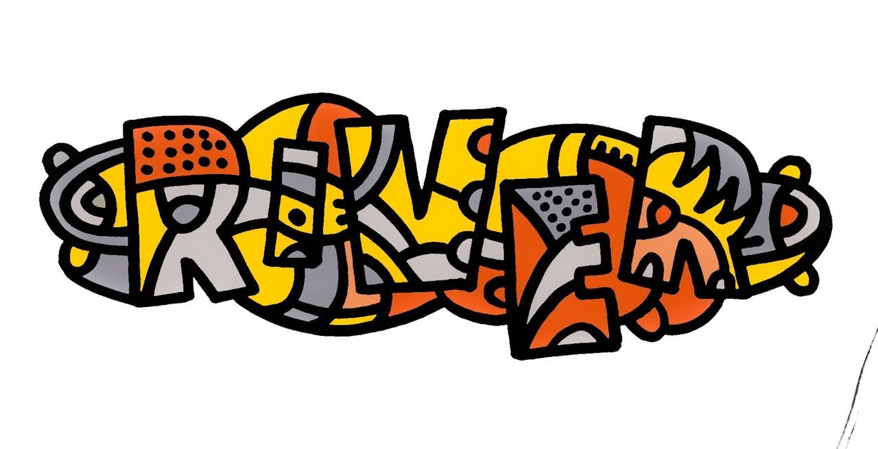 Illustratie Illustration Logo Muurschildering Ottograph Painting Schilderij  Schilderijtje