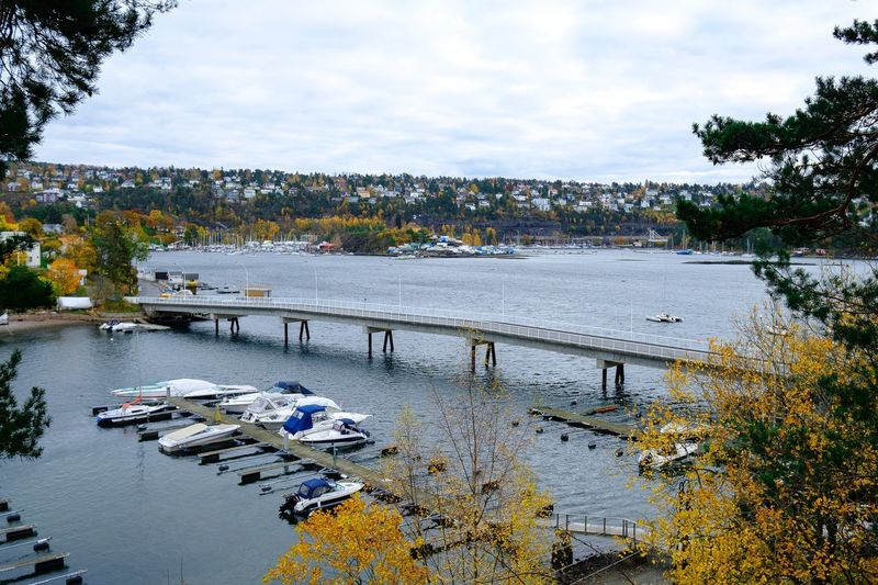 Broen over Malmøysundet i Oslo. Water Nature Beauty In Nature Oslo Sea Malmøya Ormøya Norway Oslofjord FUJIFILM X-T2 Xf10-24mm