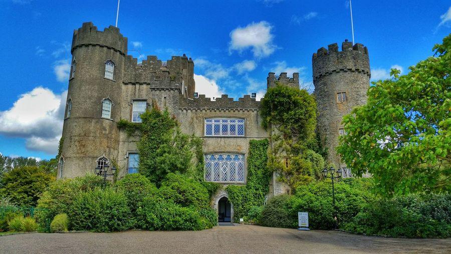 MalahideCastle Malahidecastleandgardens Dublin Ireland Castle Worldtravel Backpacking HDR Sky Bluesky
