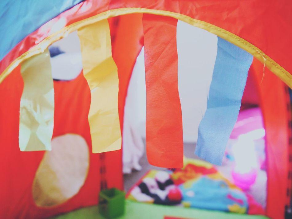 Tent Tents Childs Toy Colorful Colors Colour Of Life Colours Colourful Colour