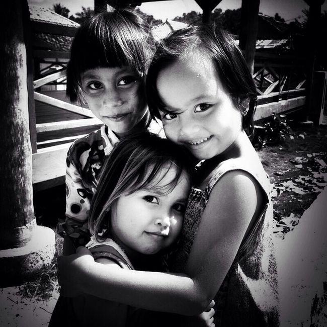 Village girls... Portrait Black And White Portrait Blackandwhite Black And White