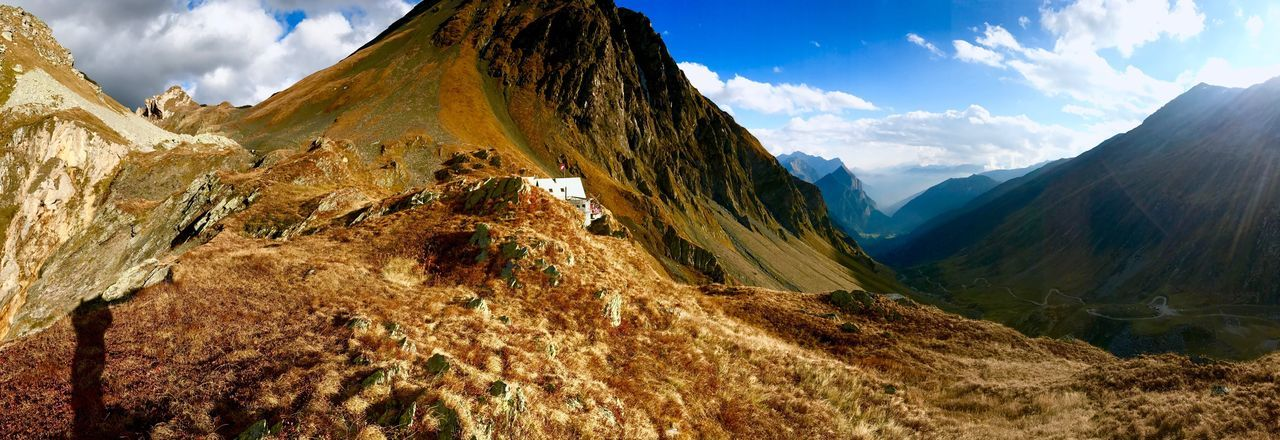 Mountain Switzerland Love Colours Capanna Scaletta Nature Panoramic Alps Tranquility