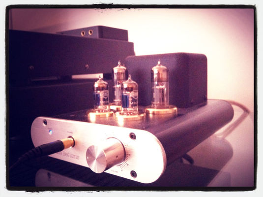 tube headphone amplifier in Kouvola by Timo Kuusisto