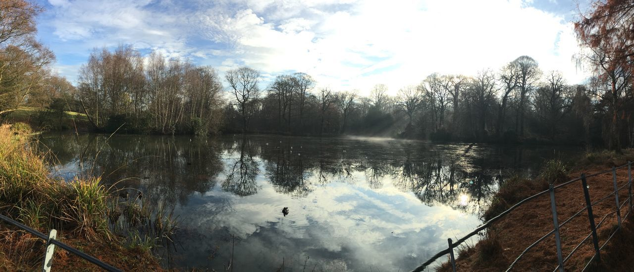 Beauty In Nature Day Growth Hampstead Heath Hampstead London Lake Nature No People Outdoors Scenics Sky Tranquil Scene Tranquility Tree Water