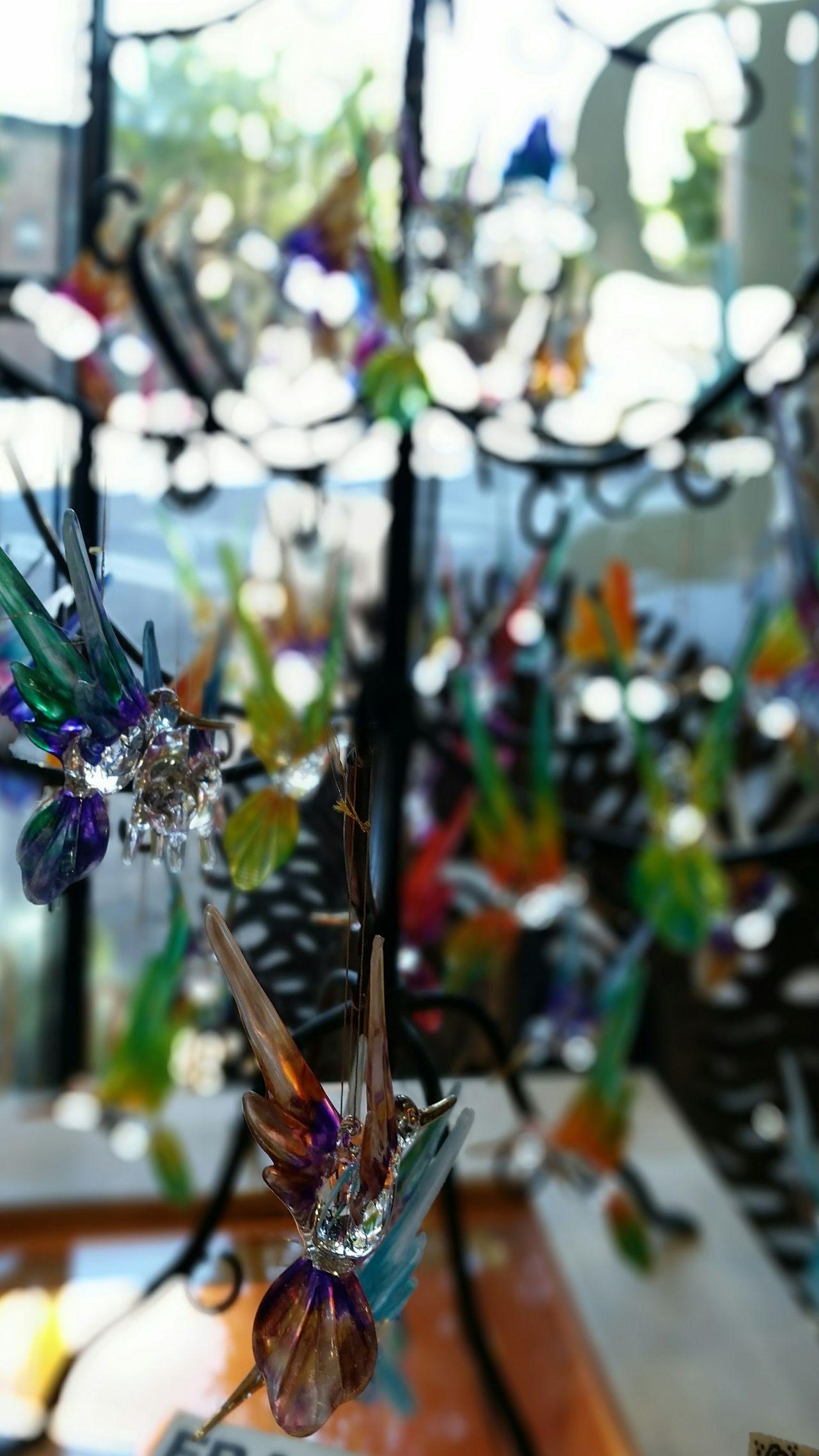Hummingbirds in glass Hummingbird Hanging Hummingbirds Of Glass Glass Figurines Christmas Decoration Crystals Jewelry Jewelry Design Crystal Display