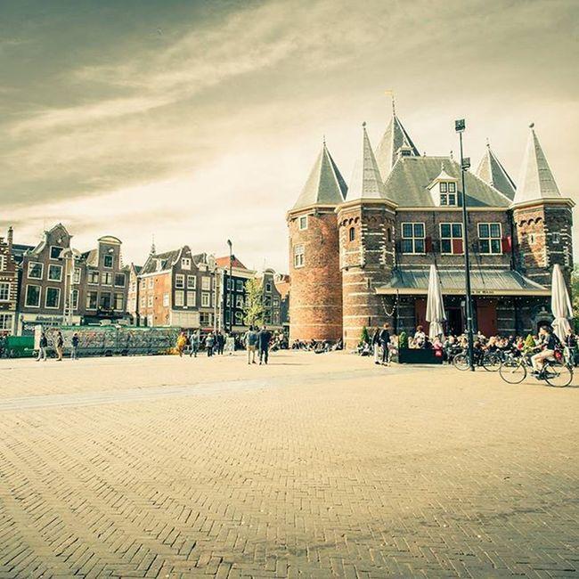 THE NEDERLANDS, Amsterdam. De Waag in Nieuwmarkt