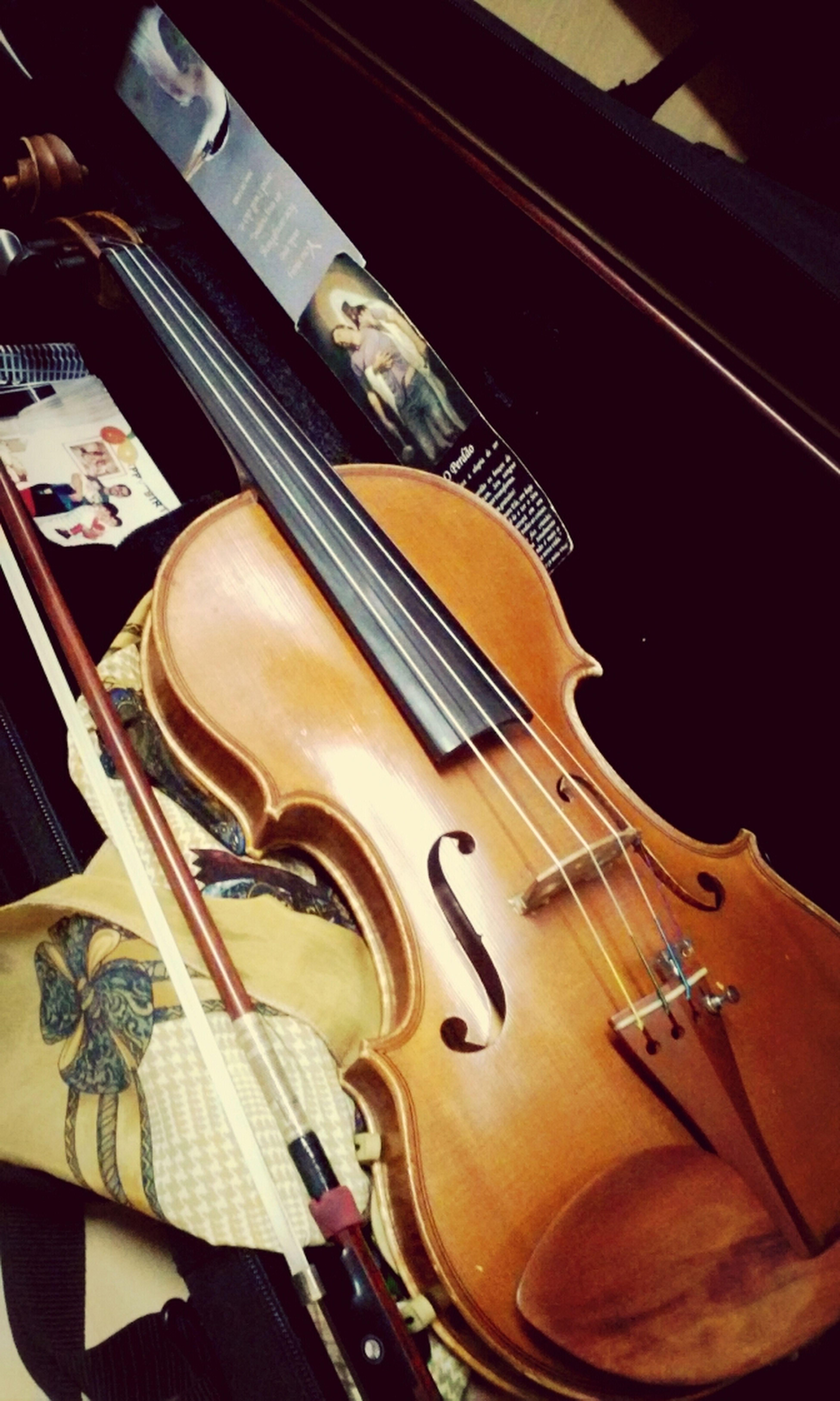 Studying Violin Music