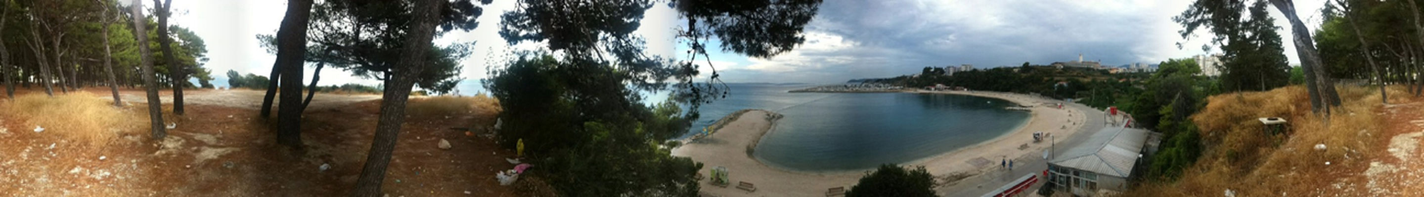 Panorama in Split by expatjournal
