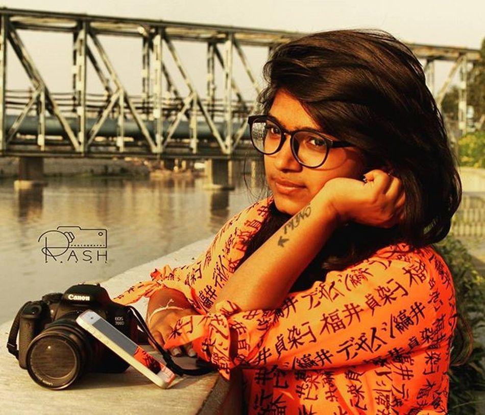 Riverfront Ahmedabad Photoshoot Frnd Girl Wid Canon😉