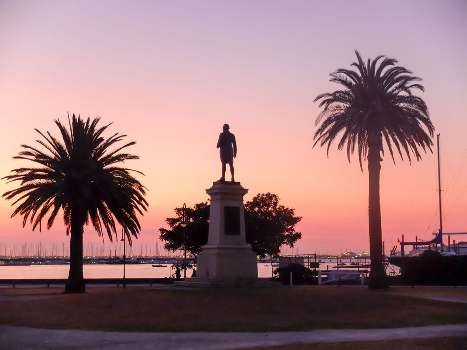 Captain Cook at Sunset