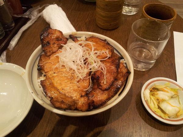 札幌駅6階の『いっぴん』の豚丼 Food