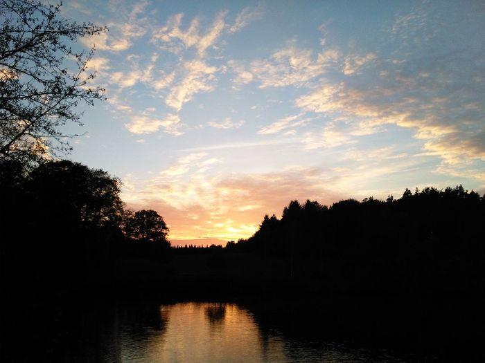 Beautiful Sunset Peaceful Evening