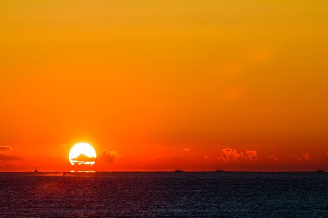 Sunrise_Collection Sunrise RedSky Orenge Orenge Colors Sae Pacific Ocean From My Point Of View 大洗 太平洋 日の出