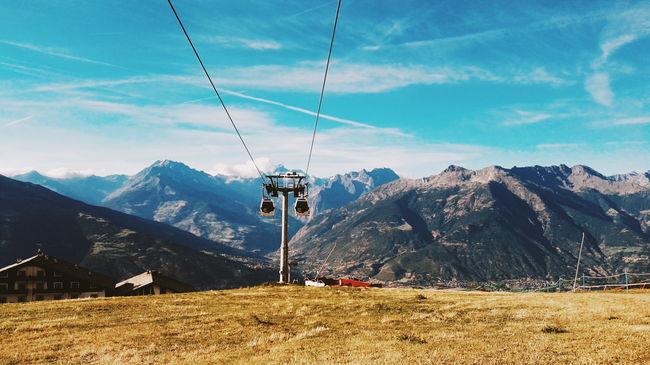 Pila, Italy Cold Mountain Summer Sun Grass Italy Aosta Colour Of Life Nature Colourful Nature
