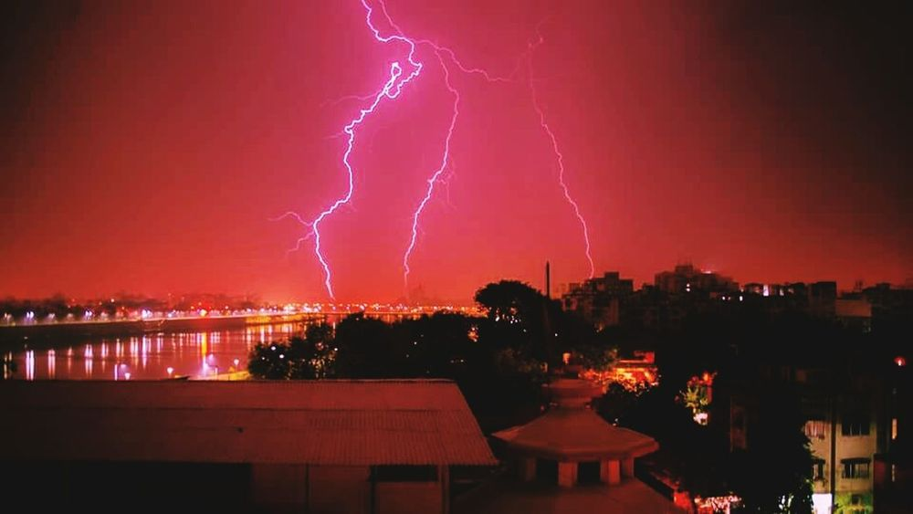 Strings of Lightning...
