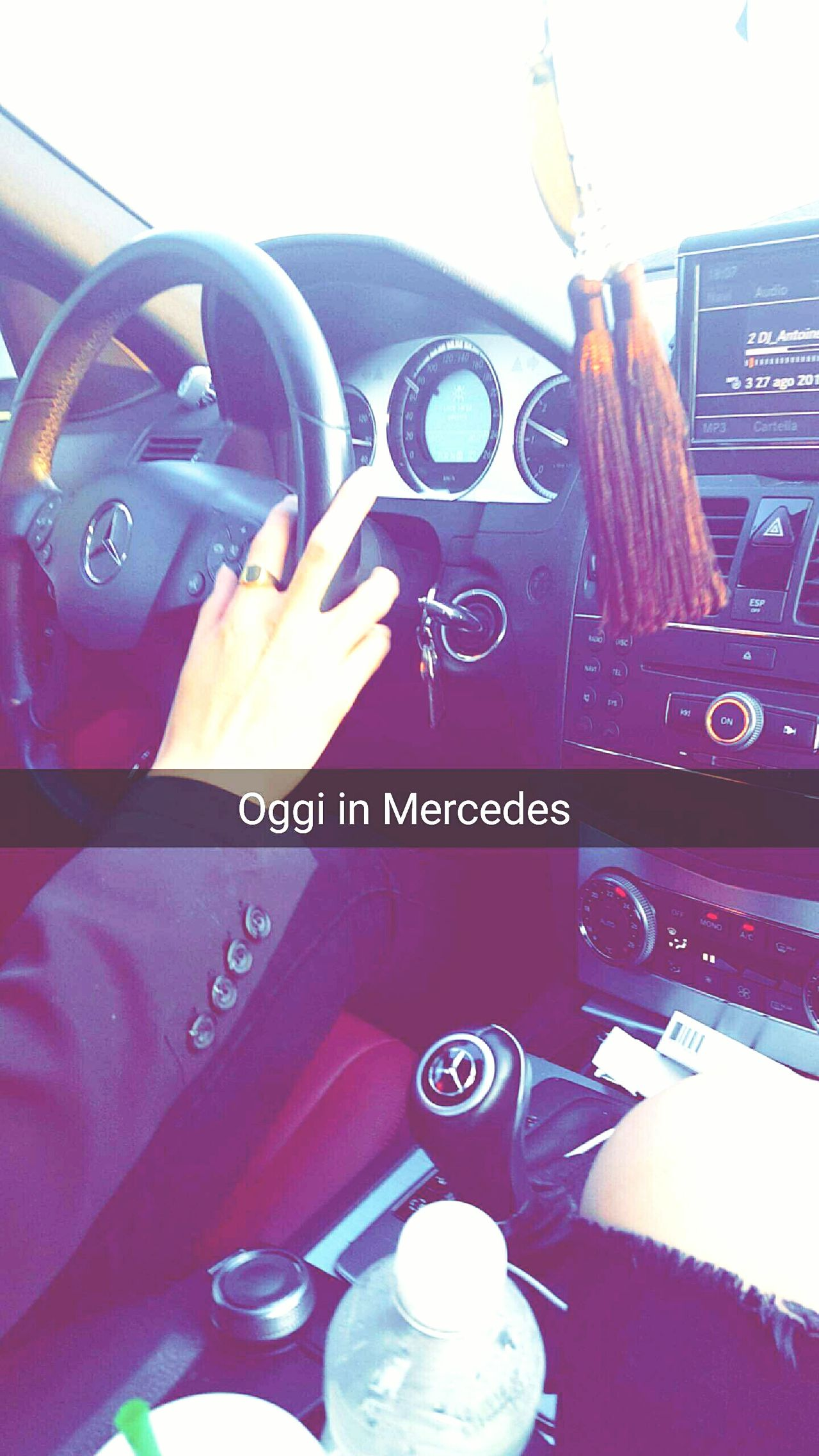 Today :) Mercedes Whit My Love <3 Go To A Party
