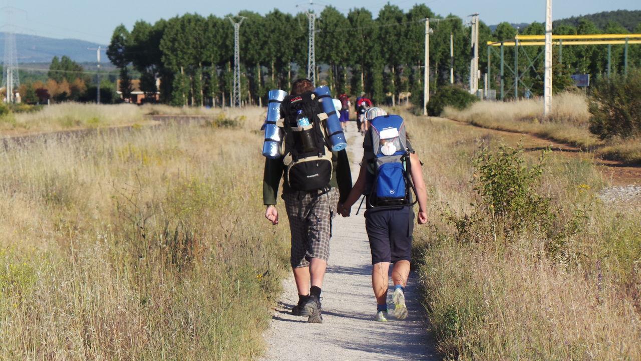 Backpack Backpacker Camino CaminodeSantiago El Camino De Santiago Jakobsweg Pilgern Pilgrimage Road Rucksack Track Way Way Of Saint James Weg