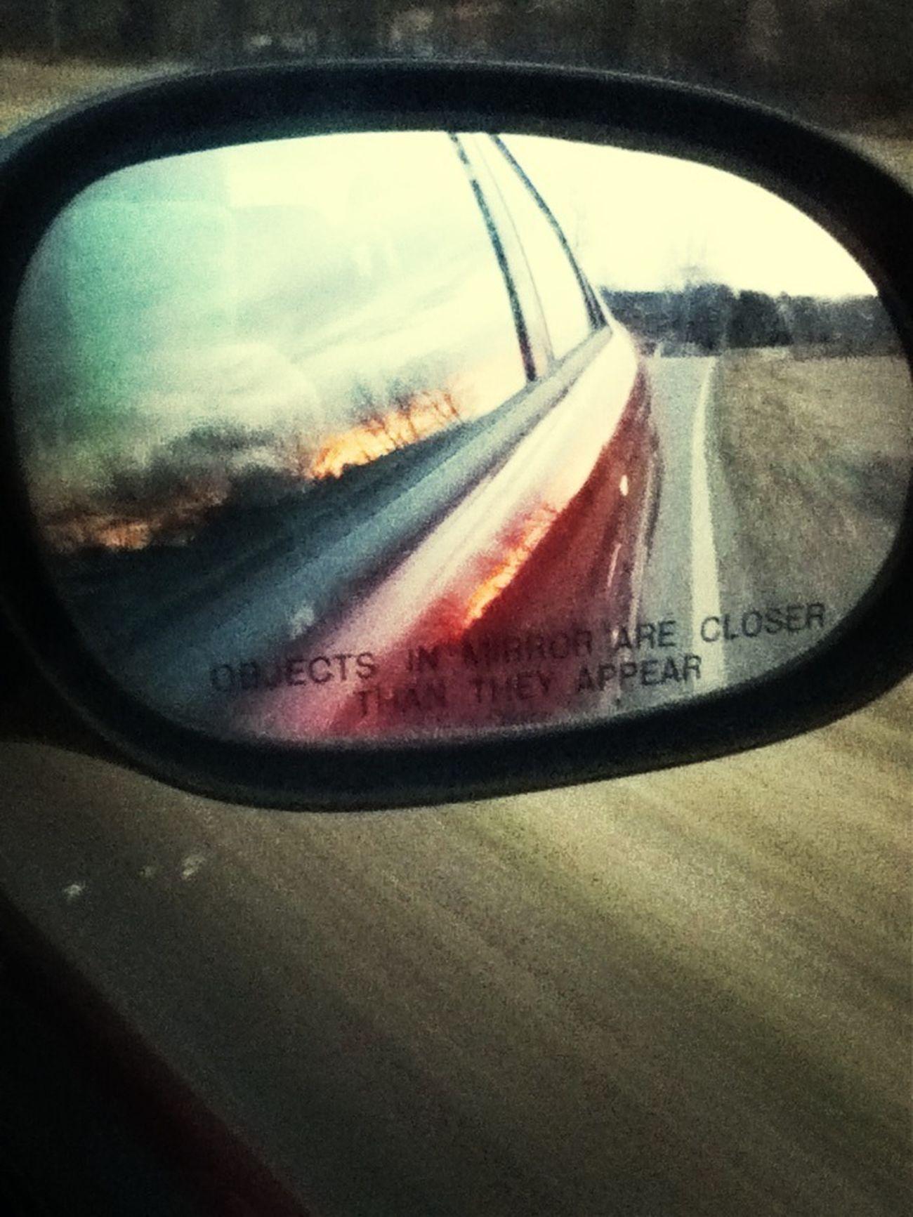 Reflecting Sunset