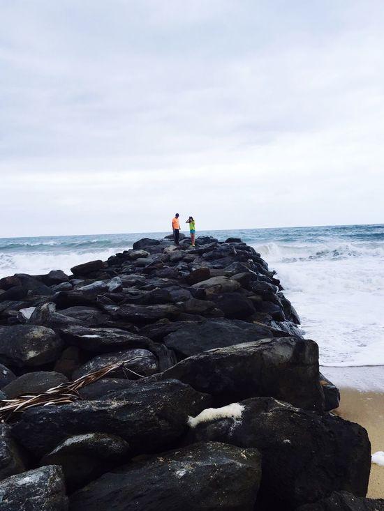 Beach Photography Rocks Beautiful Day