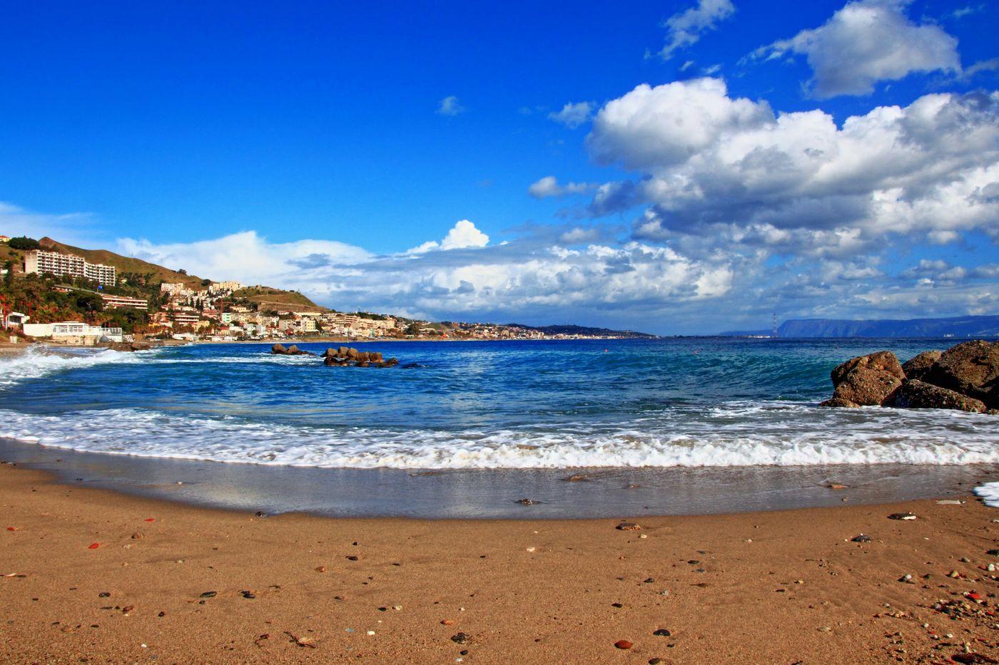 Mare strettodimessina Cielo Sabbiaescogli Messina