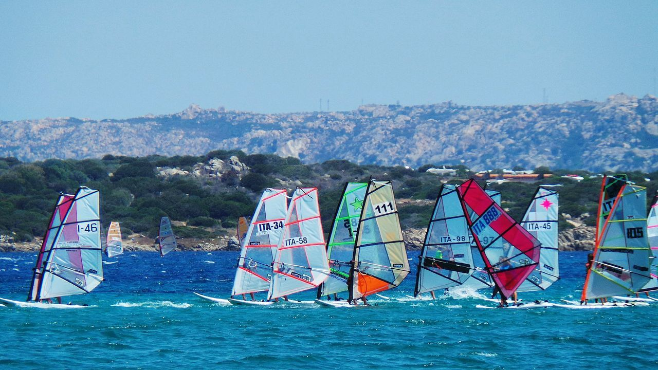 Adventure Club Showcase:July Vele Blue Sea And Blue Sky Summer_collection Blue Sea Nature Sea Summer Summer2016 Summertime Summer Views Blu Tourquise Sea Sport Time Regatta Regata Sardegna Sardinia Santateresagallura ❤ Colour Of Life The Color Of Sport