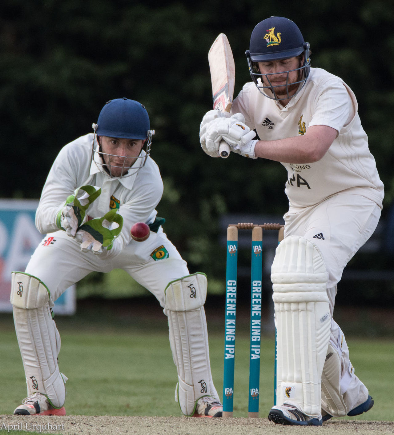 Battle between batsman and wicket keeper Batsman Cricket Cricket Ball Cricket Shot Cricketers Front View Headwear Helmet Leisure Activity Outdoors Playing Protection Protective Workwear Real People Sport Sport Drama Sports Helmet Sports Photography Sportsman Wicket Keeper Young Men