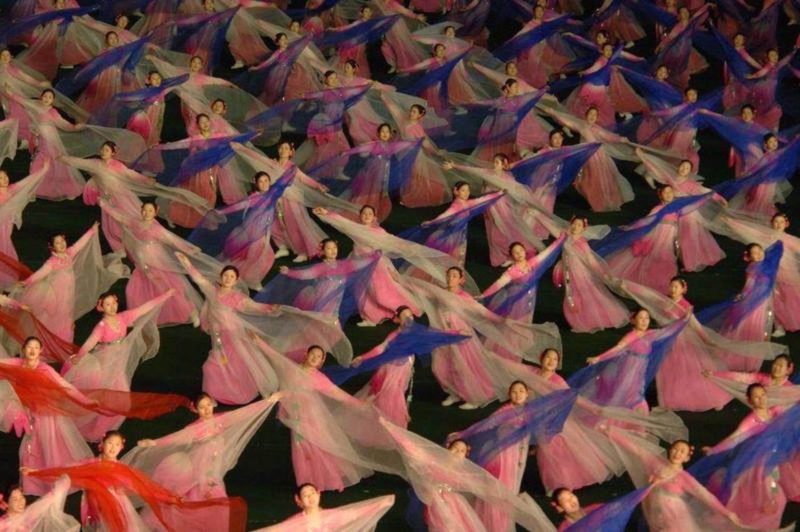 North Korea Arirang Show Precision