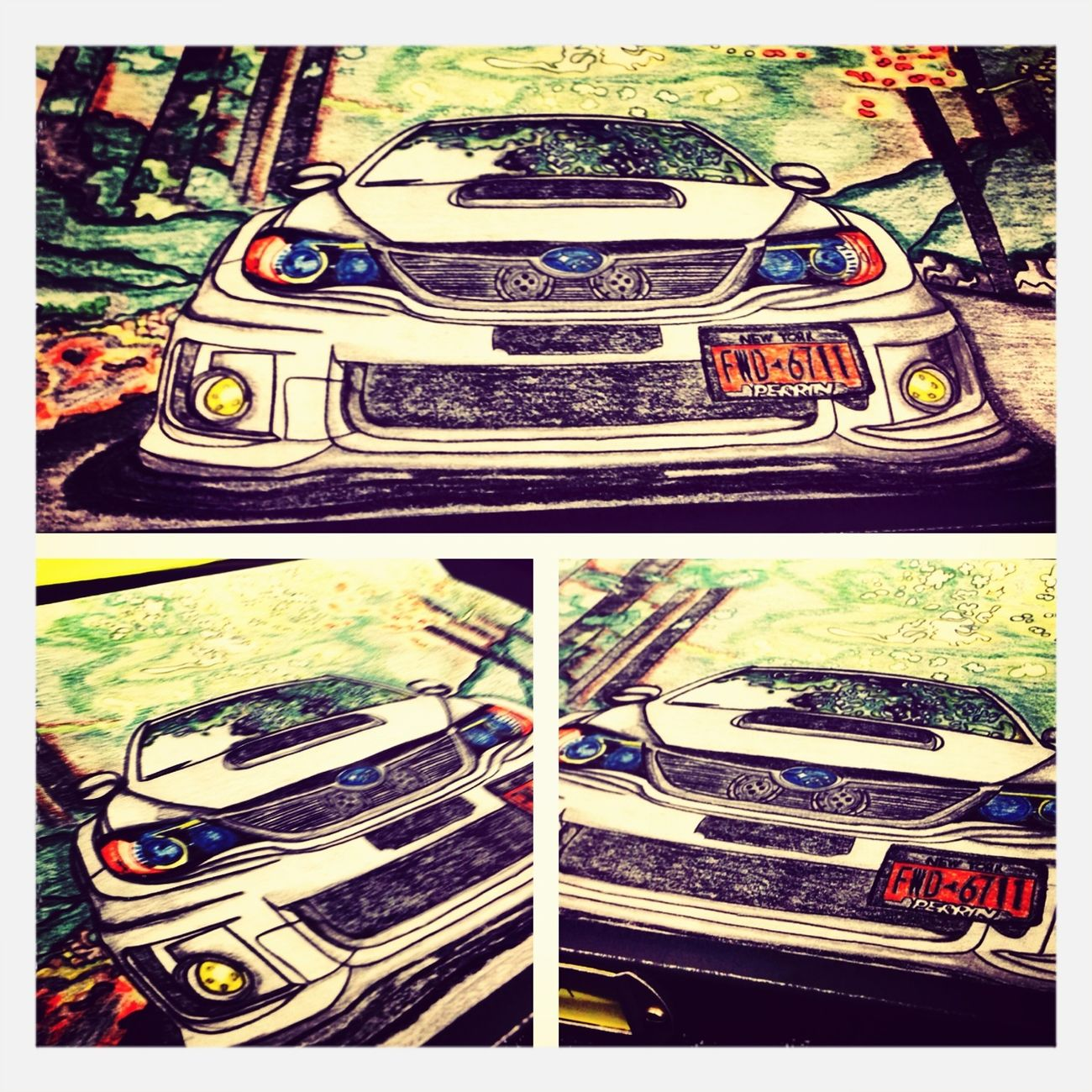 Self Art Project /subaru Wrx Sti Edition