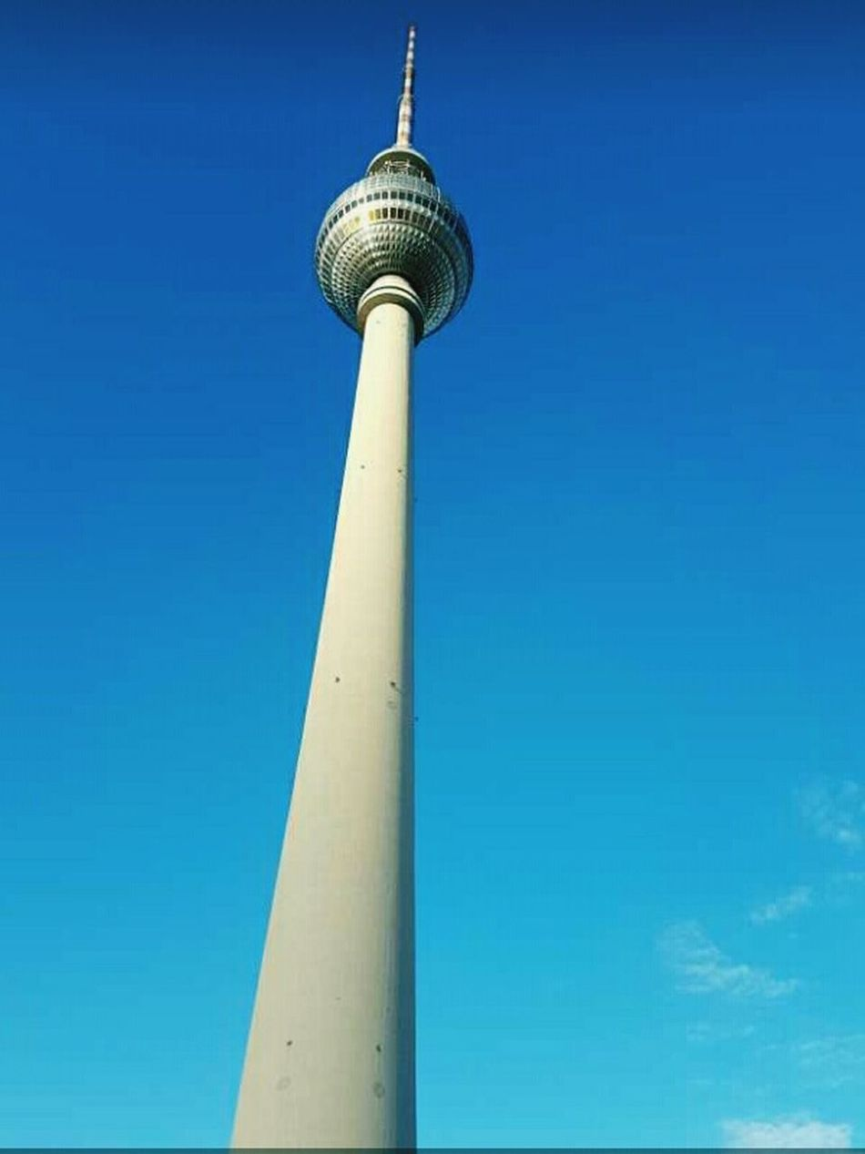 Fernsehturm Berlin Selfmade Tall - High Tower City Outdoors Sky Day No People Television Tower Happy Love Sunshine Fly