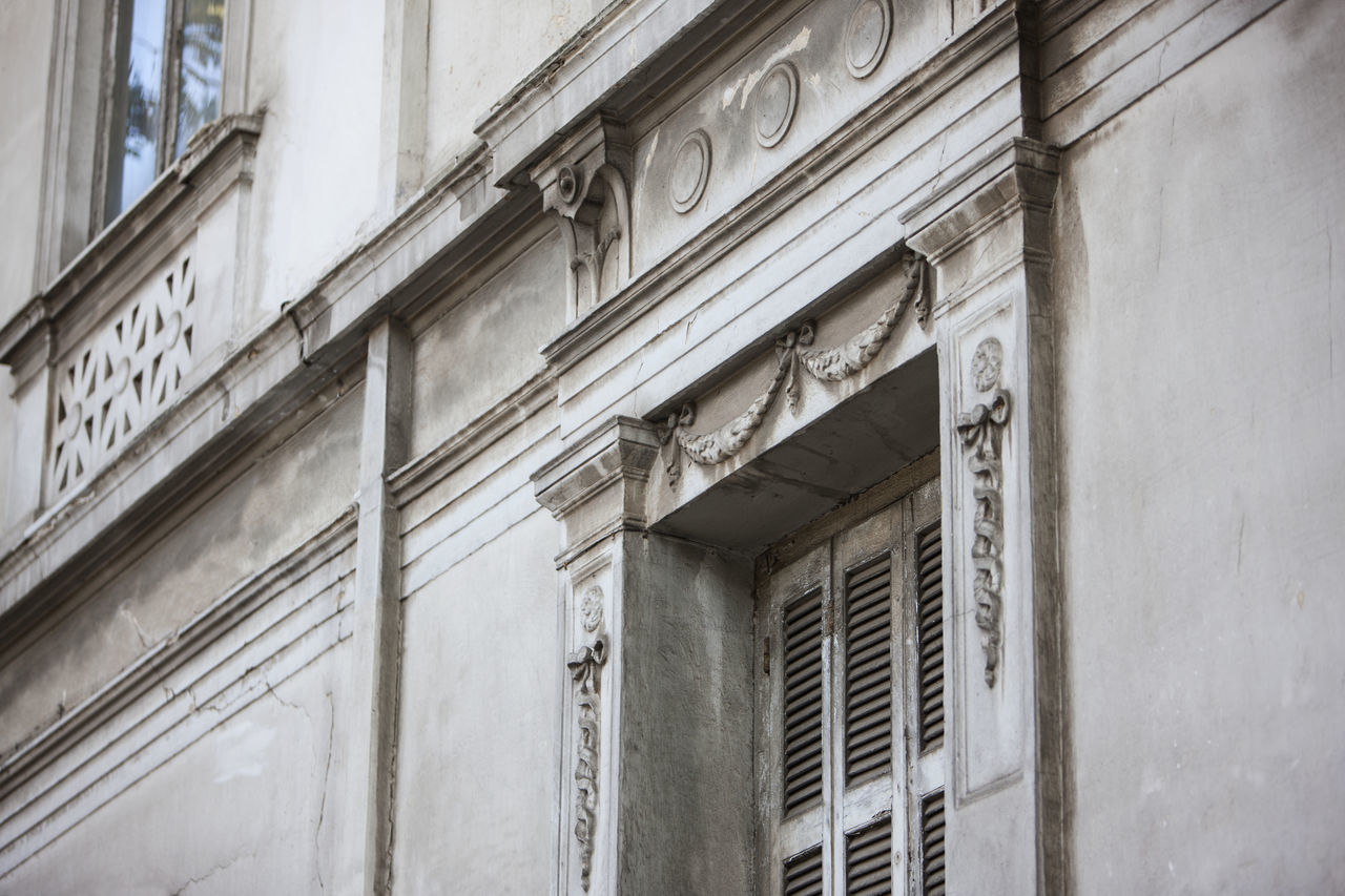 Architecture Architecture Athens Building Exterior Built Structure Damaged Day Elégance Greece Neoclassical Neoclassical Architecture No People Old Buildings Outdoors Style Weathered Windows