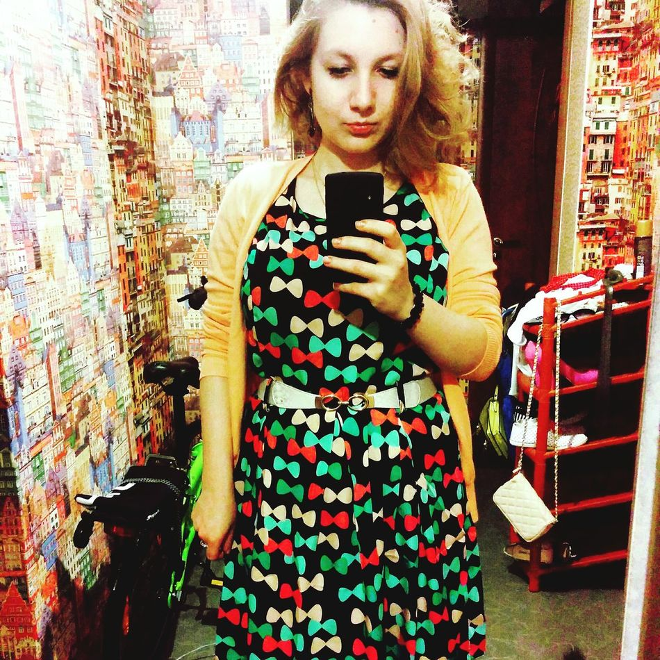 That's Me Hello World Enjoying Life Selfie NewDress(: