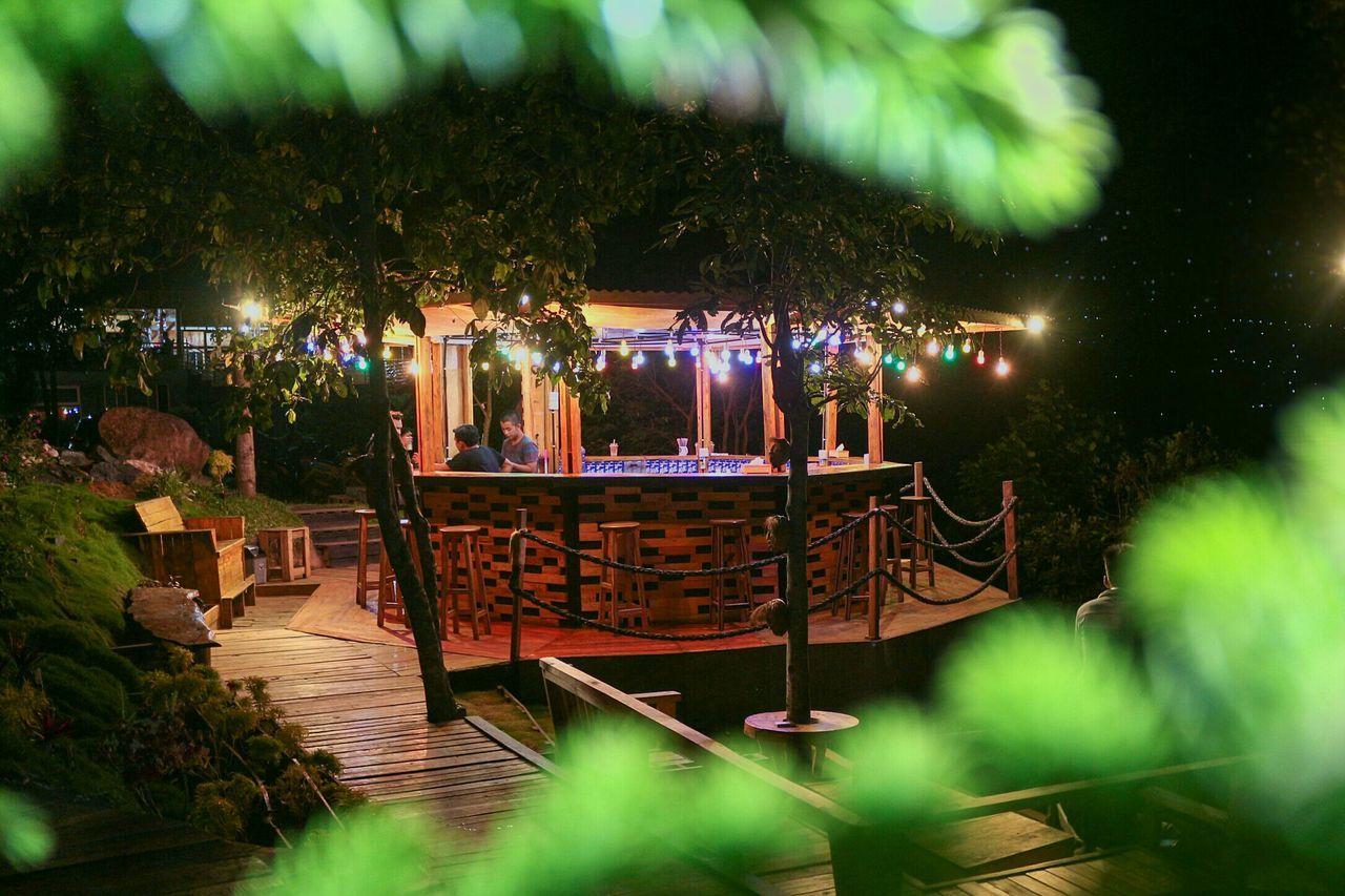 Night at Damar Cafe Tabek... Hangout Illuminated Nightshot Photography Wonderfulindonesia