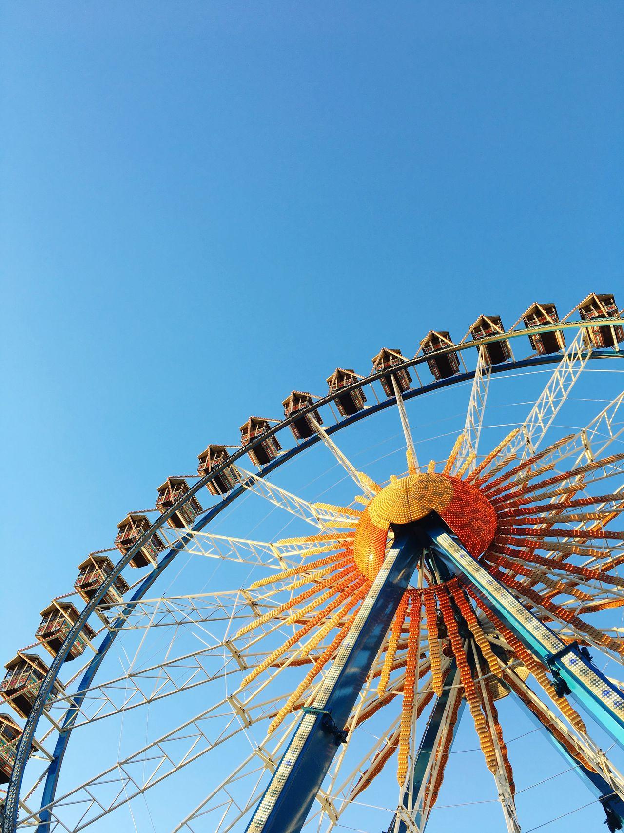 Ferris Wheel Sky Clear Sky