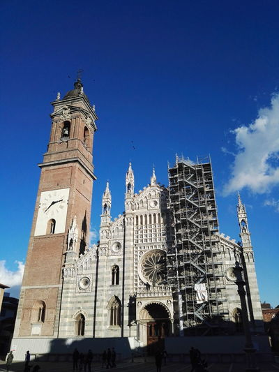 Architecture Low Angle View History Travel Destinations Day Duomo Duomo Di Monza Huawei p8 Be. Ready. EyeEmNewHere