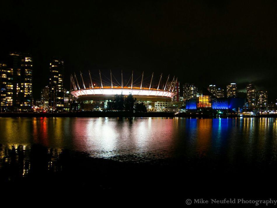 Photooftheday Vancouver Bcplace Lowlightphotography Amazing_captures Cityscapes Canon Photo♡ Photography City Lights