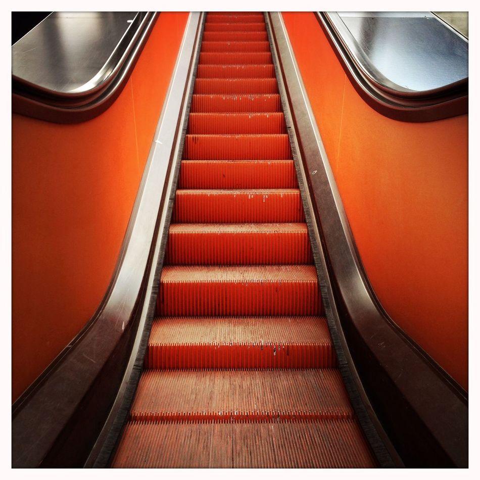 Architectural Detail Oranksch Arkiromantix Orange By Motorola Top Of The Pott's Stairways