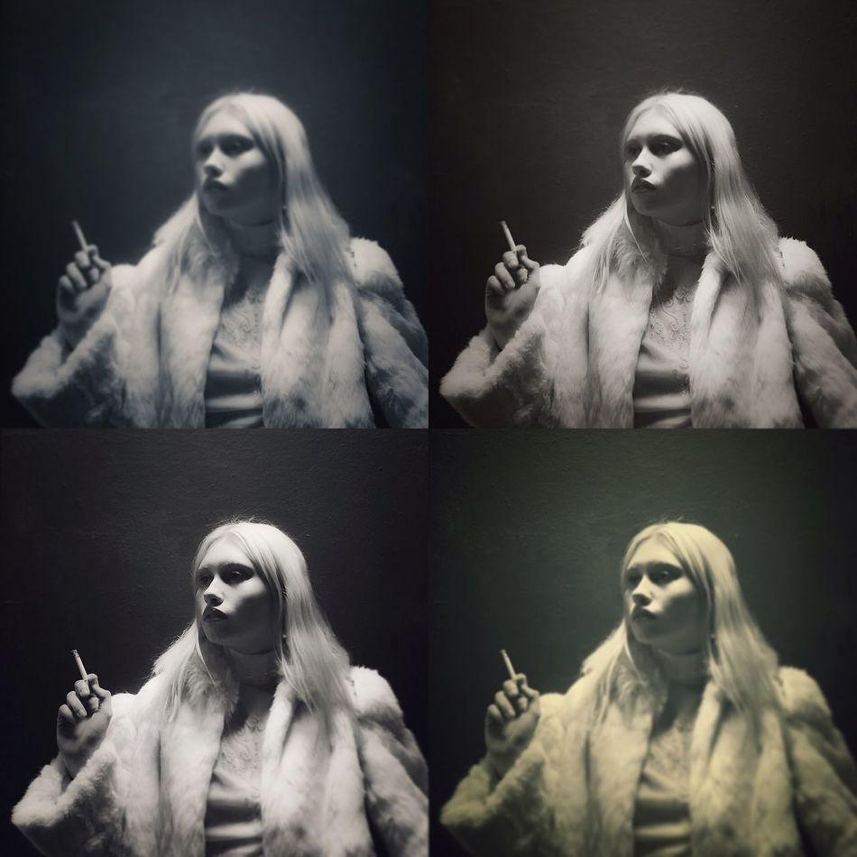 Acid Test San Francisco Model Portrait