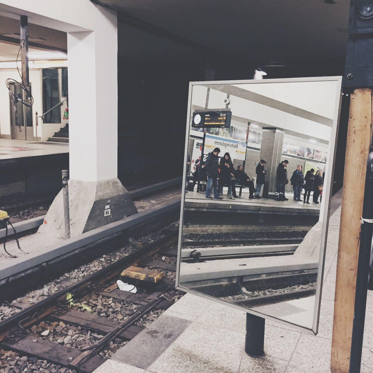 Berlin Ubahn Ubahn Berlin Spiegelung