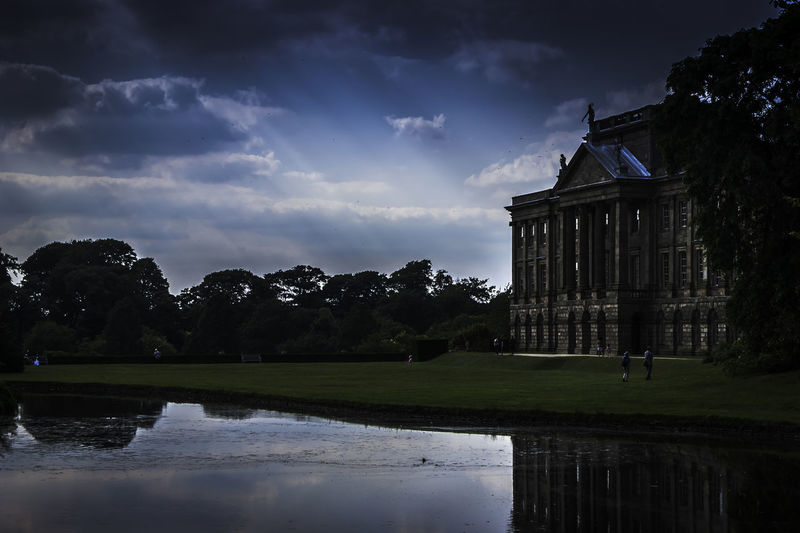 Lyme Park, Cheshire Architecture Cloud - Sky Day Landscape Lyme Park Nature No People Outdoors Sky Tourism Water