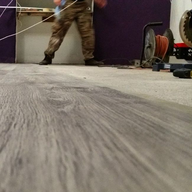 Floors going in... Stylelords @stylelords.cz office and showroom