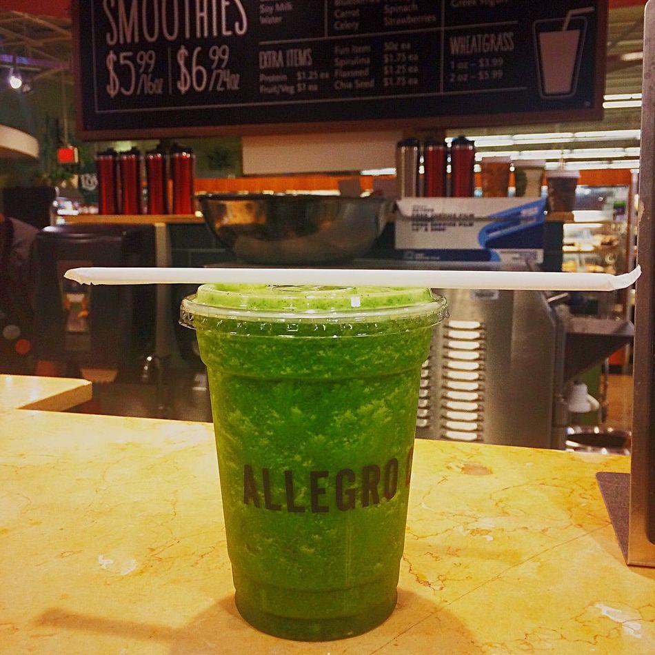 Whole Foods Green Smoothie Vegan Vegetarian Paleo Detox Allegro Greens Healthy Food Healthy Lifestyle