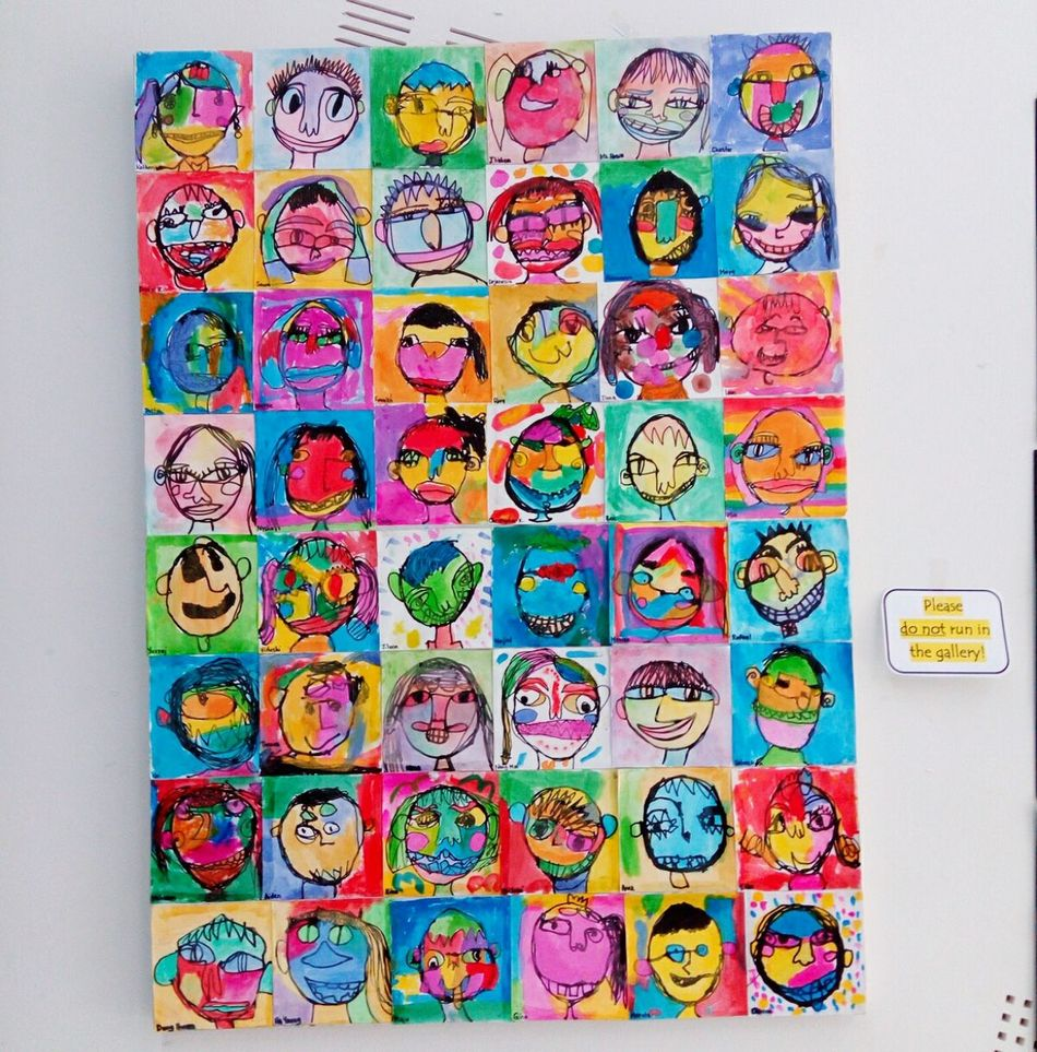 Kids Artwork Art Colors Colorful Funny Day Look At Me! Summer2016 Little Things